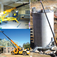 Crane hire business at the foothills of the Snowy Mountains.New Listing.