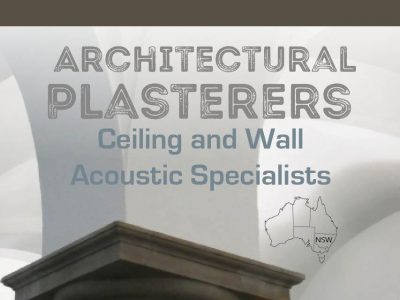 Interior Architectural Plasterers NSW